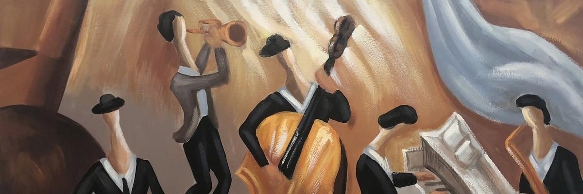 gemälde musik tanz